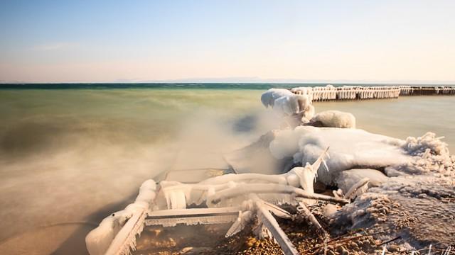 Le froid et la glace-Neuchâtel, février 2012