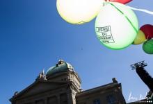 Manifestation contre la révision de la loi sur l'asile, Berne - 23.06.2012