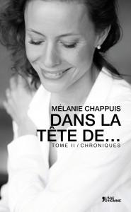 Dasn la tête de... Mélanie Chappuis- coverture de livre mars 2015